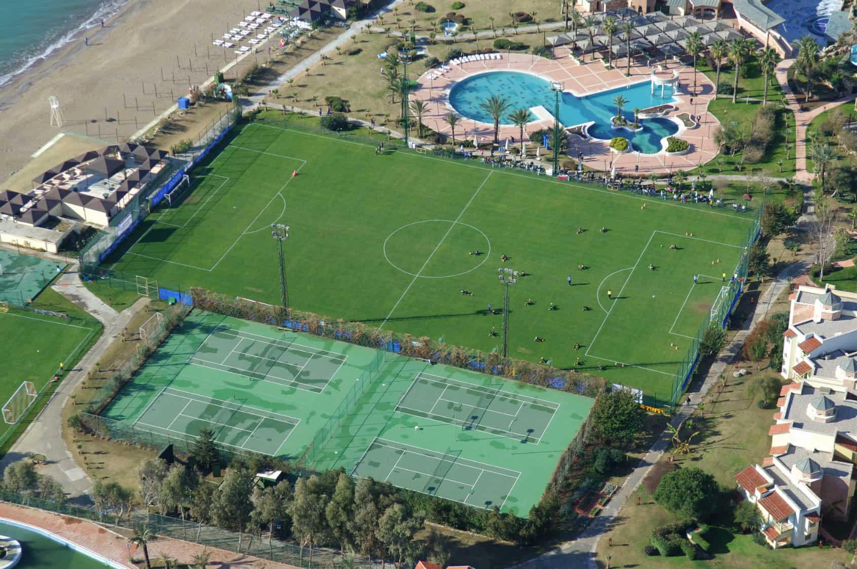 træningslejr fodbold